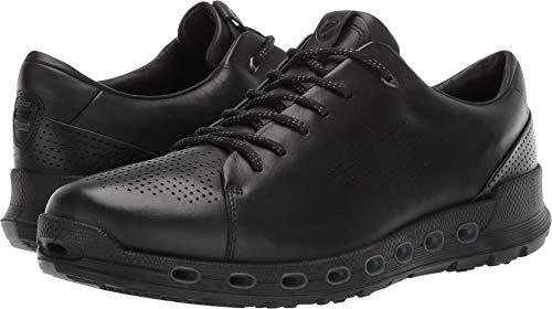 ECCO Men's Cool 2.0 Leather Gore-TEX Sneaker, Black Retro, 43 M EU (9-9.5 US)