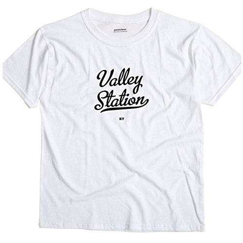Valley Station Kentucky KY METRO GreatCitees Unisex Souvenir T (Metro Station Shirts)
