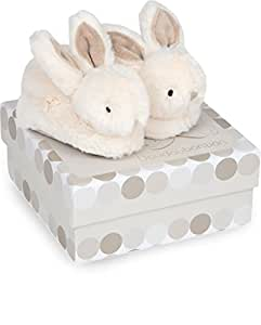Dou Dou et Compagnie Bunny Booties, Tan, One Size