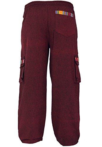 In Yoga Pantaloni shop Goa Di Uomo Dicotone Vino Da Stile Guru Etnico 5qawtXSw