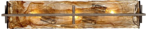 Carlyn 23 3/4'' Wide Bronze Gold Bath Light by Franklin Iron Works