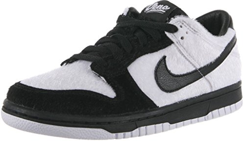Nike Youth Girls/Boys Dunk Low Premium Panda Shoes White/Black