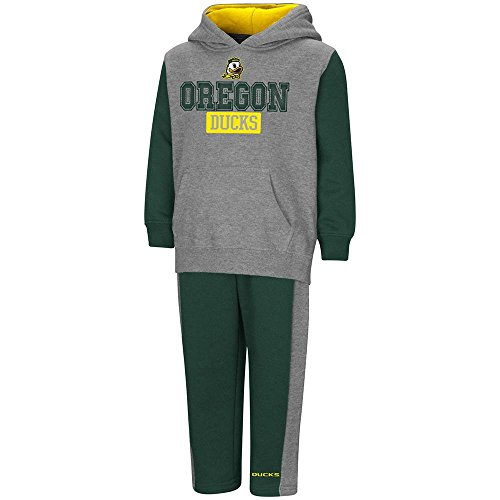 - Colosseum Toddler Oregon Ducks Pull-Over Hoodie and Sweatpants Set - 5T