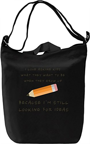 Looking for ideas Borsa Giornaliera Canvas Canvas Day Bag| 100% Premium Cotton Canvas| DTG Printing|
