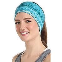 Workout Headband for Women & Men - Wide, Moisture Wicking...