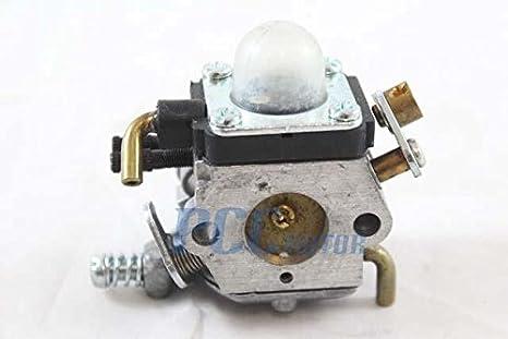 Amazon.com: 5Z para ZAMA c1q-k73 carburador Carb Cortacésped ...