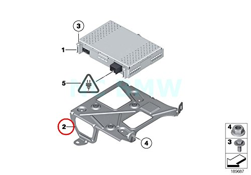 BMW Genuine Bracket For Dab Tuner/Sdars/Tv Module
