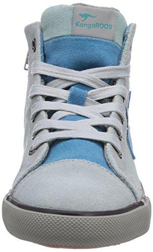 KangaROOS KangaVulcT 2045 - zapatilla deportiva de lona infantil verde - Grün (blue surf/dk smaragd 844)