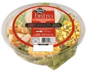 READY PAC BISTRO BOWL SANTA FE SALAD 5.7 OZ PACK OF 3 - Santa Fe Bistro