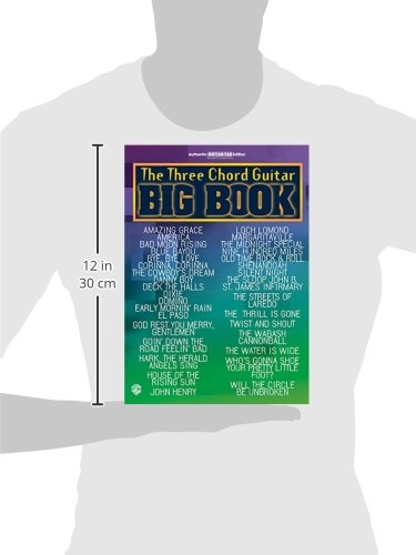 Amazon.com: The Three Chord Guitar Big Book: Easy Guitar (Guitar Big ...
