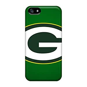 Shock-Absorbing Hard Phone Cover For Iphone 5/5s (Qtk6706wdgf) Customized Fashion Green Bay Packers Pictures