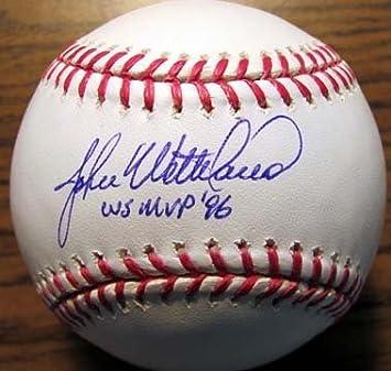 3dc1f468726 John Wetteland (1996 NY Yankee) Autographed  Original Signed OML Baseball  w   quot