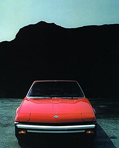 Amazon.com: 1983 1984 Bertone X1/9 Factory Photo: Entertainment Collectibles