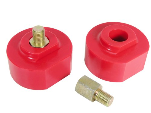 Prothane 6-1711 Red 2'' Lift Front Coil Spring Spacer Lift Kit 2' Coil Spring Spacer Lift