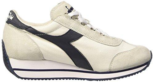 sneakers donna diadora heritage equipe w sw hh nylon colore bianco blu MD4MaV