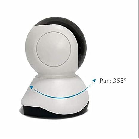 Cámara de Vigilancia mascotas,notificaciones Push,Pan/Tilt/Zoom,Instalar Fácil,cámara ip inteligente,impermeable,720P 1.0 Megapixel P2P IR-Cut Detección de ...