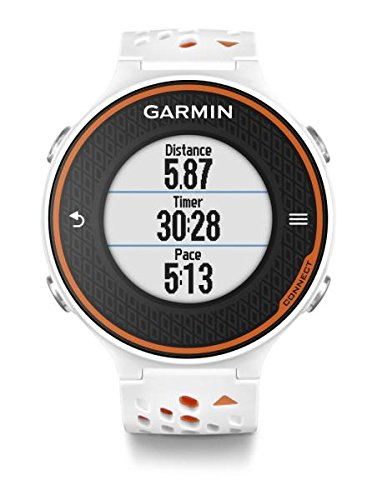 Garmin Forerunner 620 GPS Watch with HR Monitor Run-Orange White