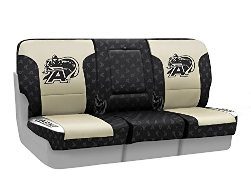 Coverking Custom Fit Front 40/20/40 NCAA Licensed Seat Cover for Select Nissan Titan Models - Neosupreme (U.S. Military Academy) by Coverking