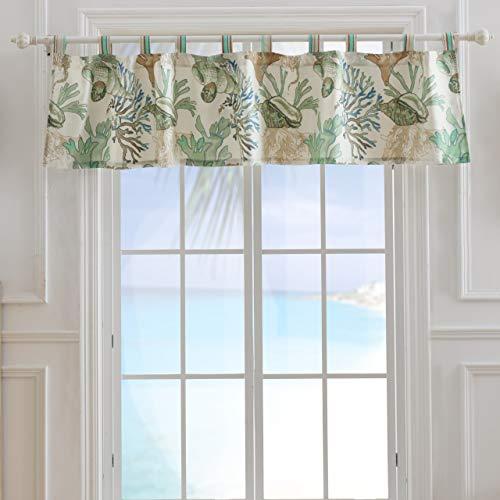 Barefoot Bungalow Atlantis Window Valance 84x19-inch - Jade Valance