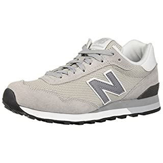 New Balance Men's 515 V1 Sneaker, Overcast/White, 7 4E US