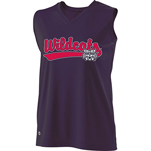 - Holloway Sportswear Girls Curve Sleeveless Replica Jersey. 228253 University Of Arizona L