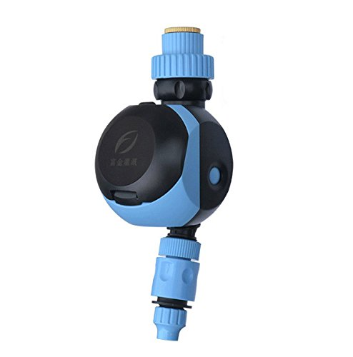Rotary Knob Automatic Solenoid Valve Water Timer Garden Greenhouse Irrigation Timing Controller