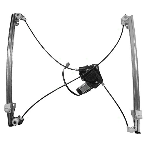 Passengers Front Power Window Lift Regulator with Motor Assembly Replacement for Dodge Chrysler Plymouth Van 68037296AA