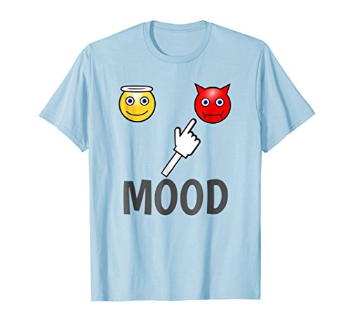 Current Mood Angel And Devil T-Shirt