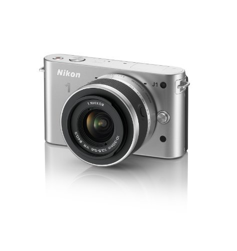 Nikon 1 J1 HD Digital Camera System with 10-30mm Lens (Silver) (OLD MODEL) [並行輸入品]   B01M8IXNTG