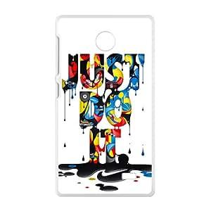 SHEP Creative Just Do It Fashion Comstom Plastic case cover For Nokia Lumia X