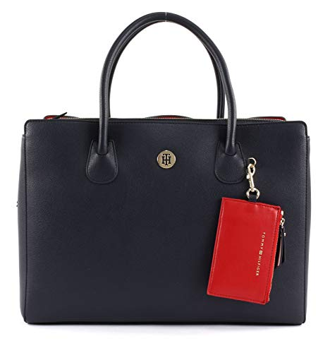Charming Tommy Blue Tracolla A Donna Aw0aw06460 Borse Hilfiger UqwEPq