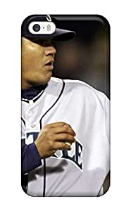 Durable Protector Case Cover With Seattle Mariners Hot Design For Iphone 5/5s