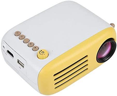 ASHATA Mini Proyector, Proyector de Vídeo con Pantalla Ajustable y ...