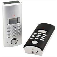 Solar or Room Light Powered Wireless Motion Sensor Auto Dialer Alarm System