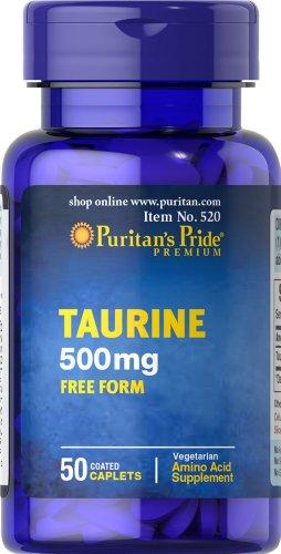 Fierté Taurine 500 mg-50 Comprimés de puritains