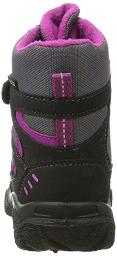 Schwarz Boots Girls' Husky Superfit Multi Schwarz Snow xRF0wHqfqa