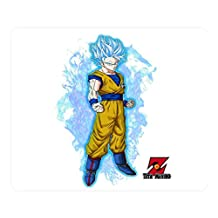 Creative Design Mouse Pad Rectangle Mouse Pad Gaming Mousepad Dragon Ball Z Goku 3 Rectangle Non-Slip Mousepad Water Resistent Oblong Gaming Mouse Pads