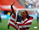 Alex Morgan Signed Photograph - 8x10 - Autographed Soccer Photos