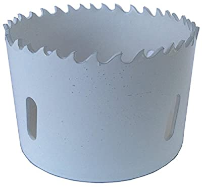 """Drill America DMS04-1140 Steel Hole Saw, 5-1/2"""" Hole Size"""