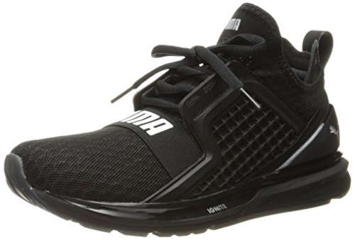 Scarpa Cross-Trainer Ignite Limitless da uomo, Puma Black, 14 M US
