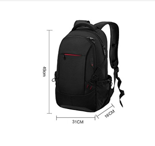 Capacity Computer Multi Backpack Business Travel Leisure Large Black purpose Shoulders Laidaye xt47CR