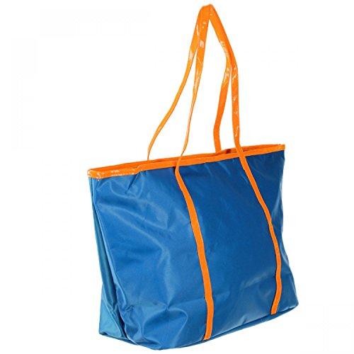 Antonio Shopper AMR lt blue/orange