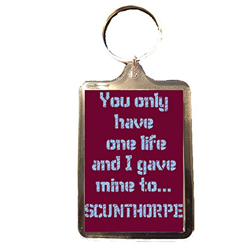 fan products of Scunthorpe United F.C - One Life Keyring
