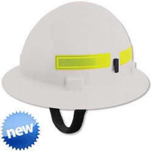 ERB 19351 Americana Wildlands Full Brim Hard Hat with Slide Lock, White by ERB