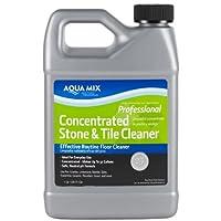 Aqua Mix Limpiador de pisos de piedra concentrada eficaz para baldosas y piedra concentrada 1 galón