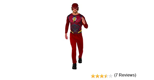 Marvel - Disfraz de Flash para hombre, Talla XL adulto (Rubies ...