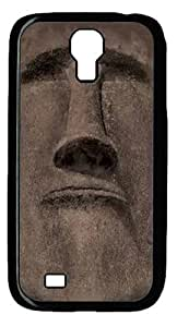 Cool Painting Samsung Galaxy I9500 Case and Cover -Easter Island Face Polycarbonate Hard Case Back Cover for Samsung Galaxy S4/I9500