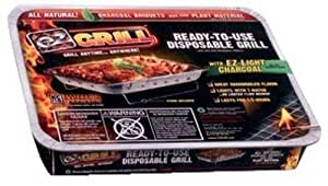 P & m productos 2531desechables–Barbacoa de carbón vegetal