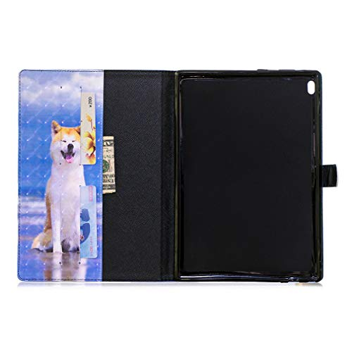 Thin Pattern Sm Leather Lmfulm Magnetic Galaxy For T813 7 Pu Bookstyle Ultra Samsung Tab Little Closure Slot Foldable 9 S2 Smart T815 Cover Of Cat Card Inch Color 7 Sl t810 With Auto Case Wake W6qBqwYa