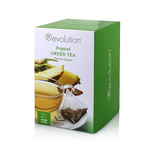 (Revolution Tea Tropical Green Teabags, 20 Count)